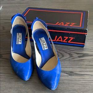 Vintage 1980's  Jazz heels with original box